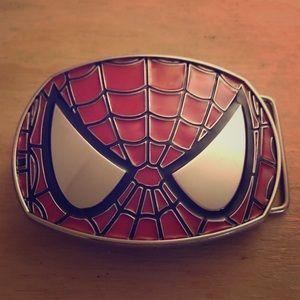 Spider-Man Marvel belt buckle